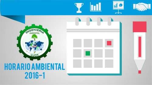 Horario Ambiental 2016-1