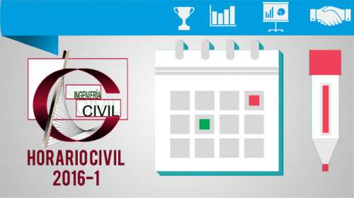 Horario Civil 2016-1