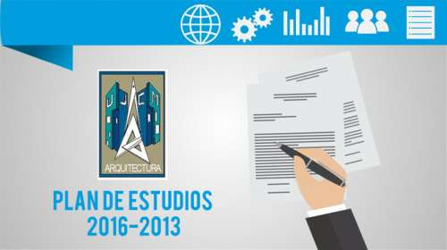 Plan de Estudios 2016-2013 Arquitectura