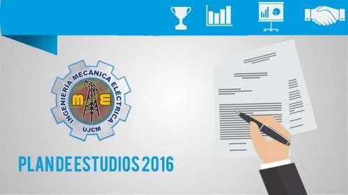 Plan de Estudios 2016 Ingeniería Mecánica