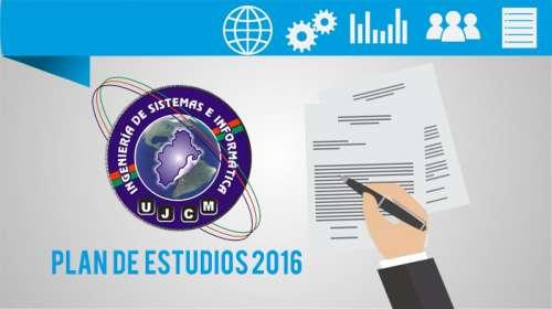Plan de Estudios 2016 Ingeniería de Sistemas
