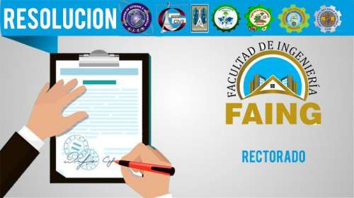 Resolución Rectorado