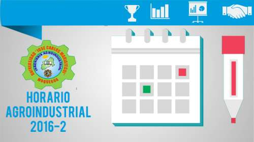 Horario Agroindustrial 2016-2