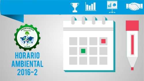 Horario Ambiental 2016-2